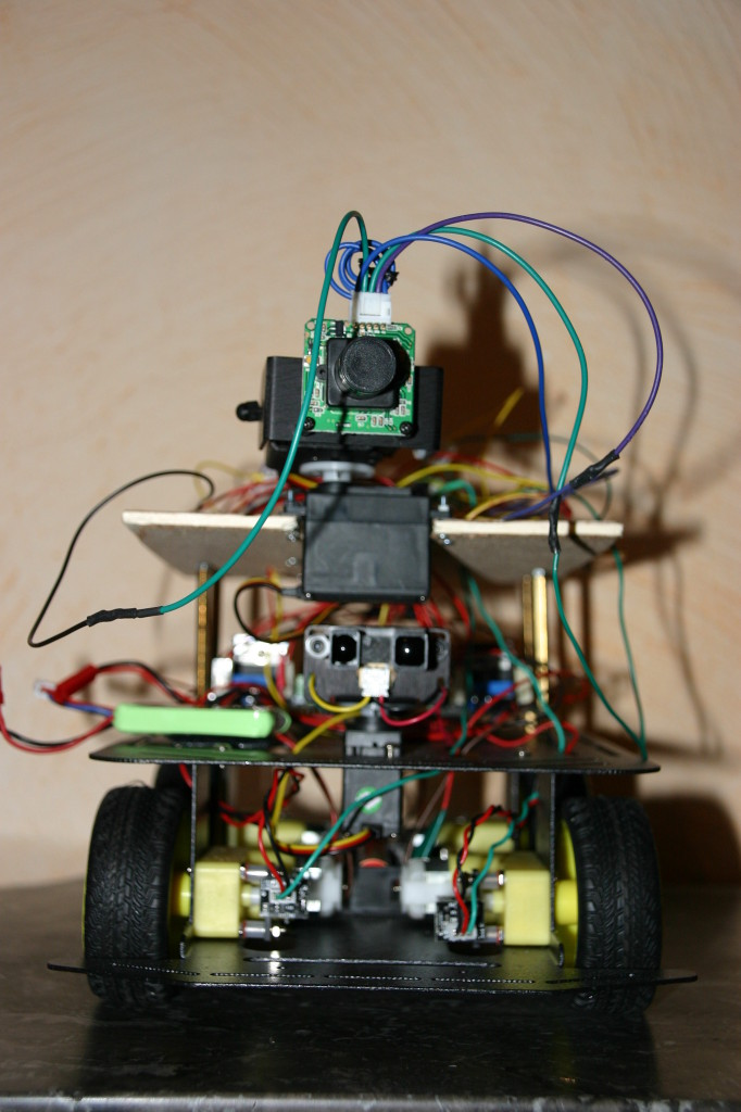 chipKIT Max32-based robot