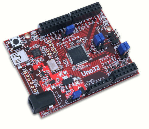 chipKIT Uno32 Development Board