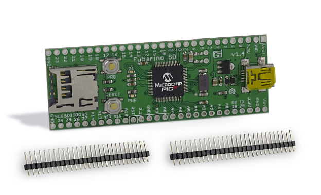 Fubarino SD - chipKIT Development Board