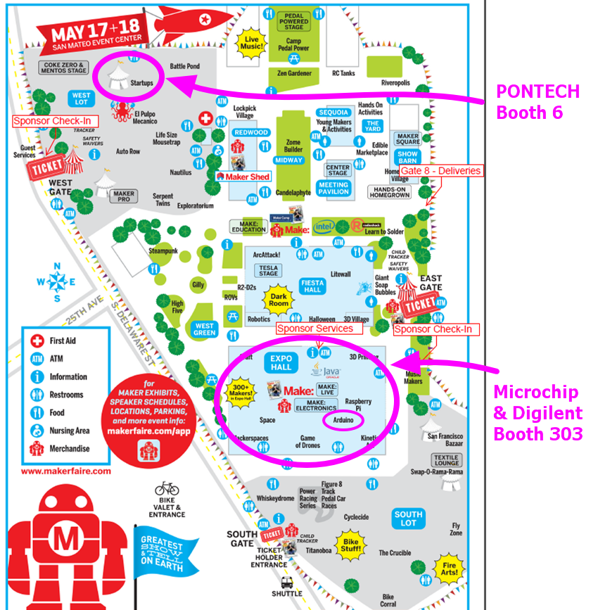 Maker Faire Bay Area 2014 � chipKIT Development Platform