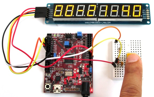 chipKIT Digital Stopwatch