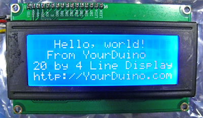 chipKIT-compatible LCD
