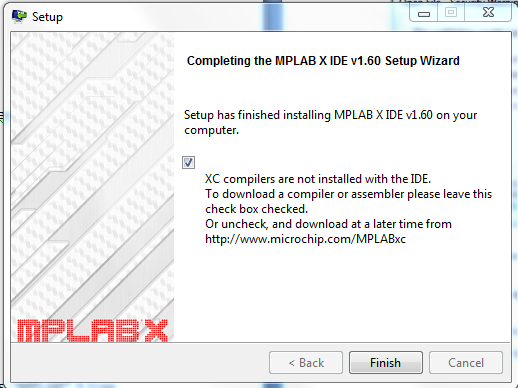 Install MPLAB X IDE and XC32 compiler – chipKIT® Development