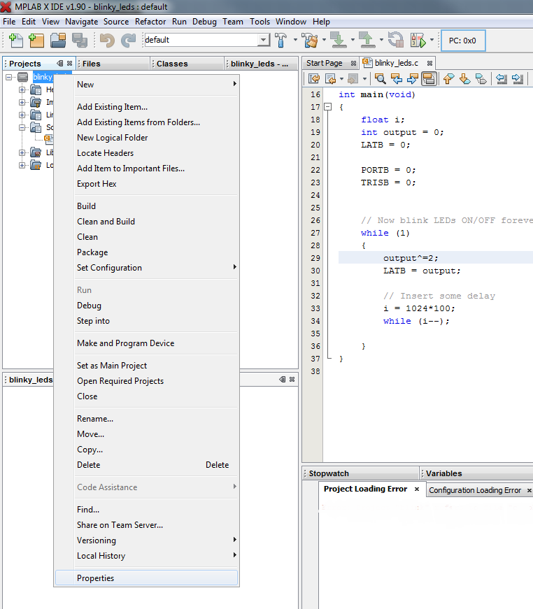 Programming chipKIT Boards from MPLAB® X IDE Without a Programmer