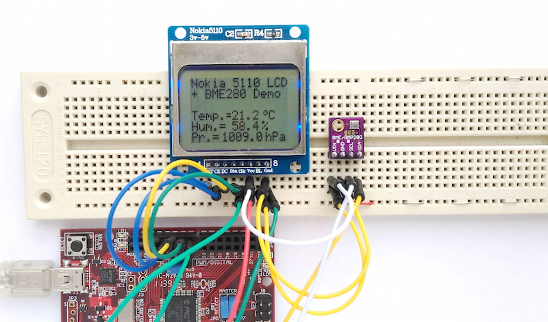 BME280 Weather Station – chipKIT® Development Platform